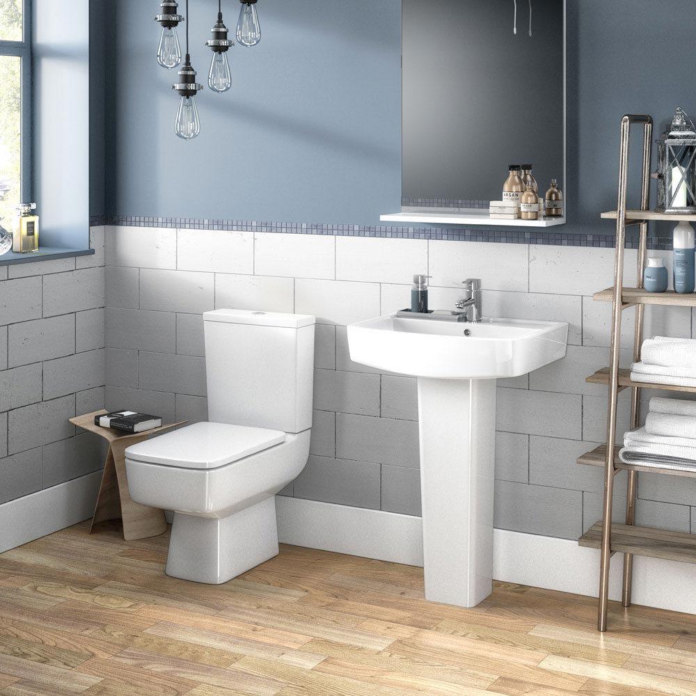 Brooklyn 4-Piece Modern Bathroom Suite Large Image