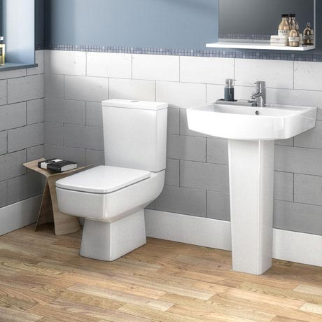 Brooklyn 4-Piece Modern Bathroom Suite