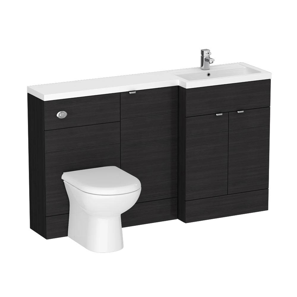 Brooklyn Black Combination Furniture Pack - 1500mm Wide profile large image view 2