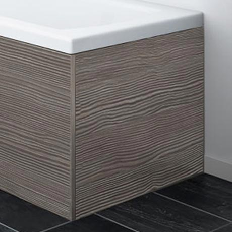 Brooklyn Grey Avola  MDF End Bath Panel for 1700mm L-Shaped Baths - MPD531