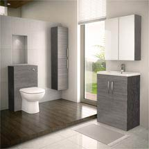 Brooklyn Grey Avola Vanity Furniture Package Medium Image