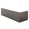 Brooklyn Grey Avola Wood Effect Bath Panel Pack Small Image