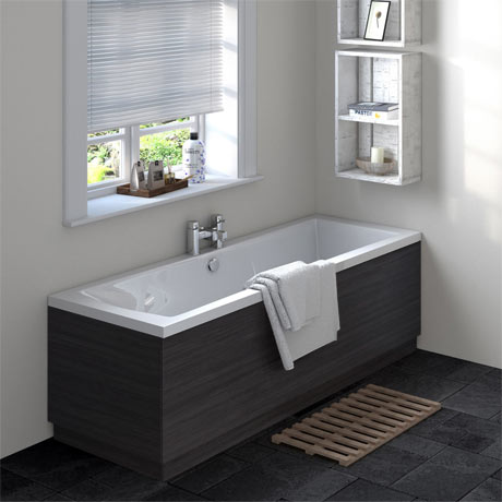 Brooklyn Hacienda Black Double Ended Bath
