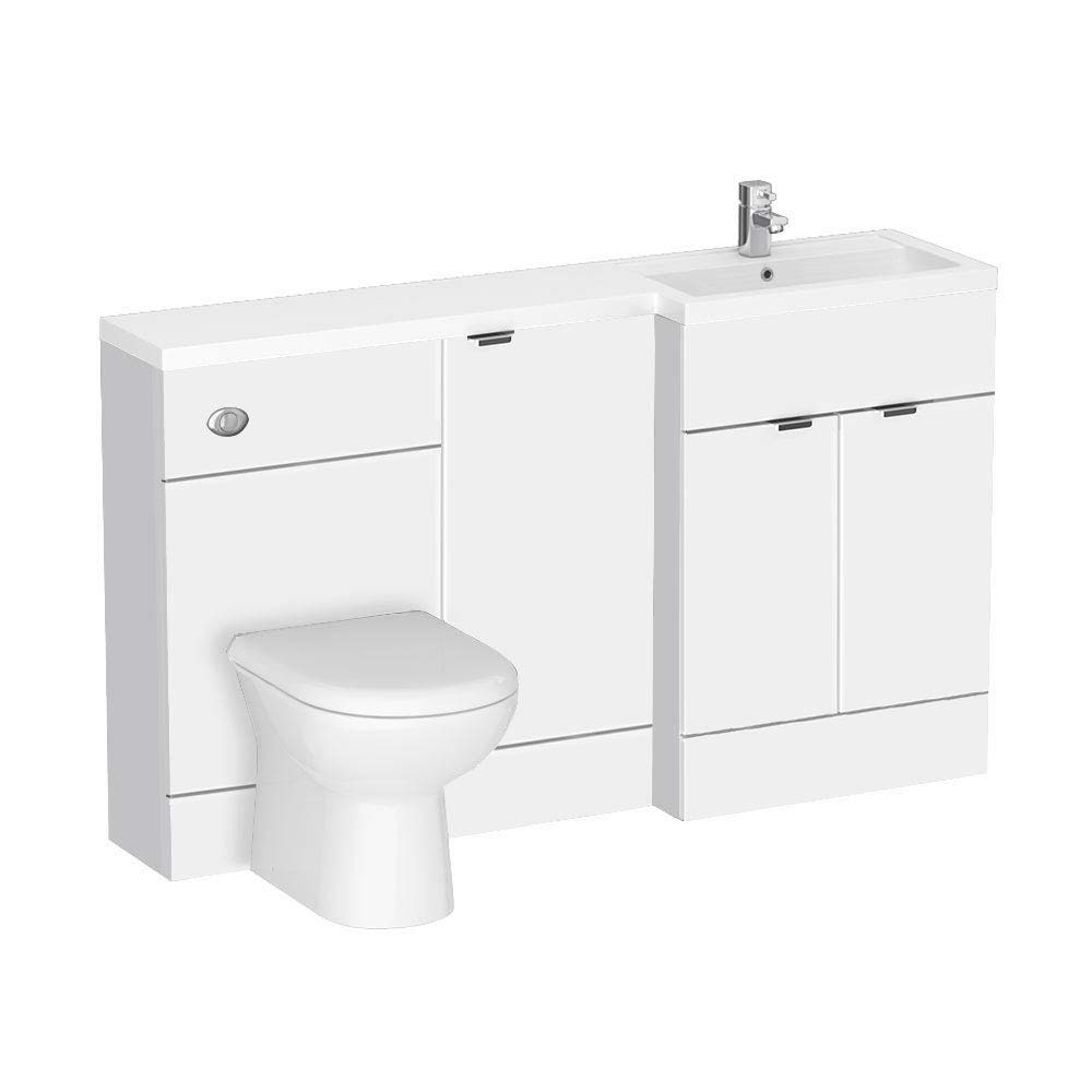 Brooklyn White Combination Furniture Pack - 1500mm Wide  Profile Large Image