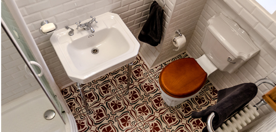 Budapest bathroom