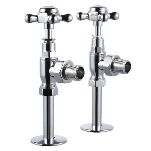 Burlington - Angled Radiator Valves - R6CHR Large Image