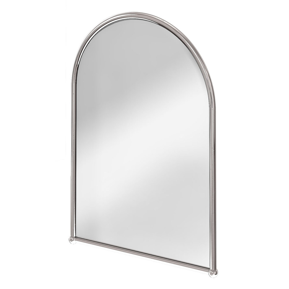 Victorian bathroom mirrors uk - Burlington Arched Mirror With Chrome Frame A9 Chr At Victorian Plumbing Uk