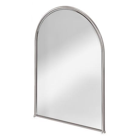 Burlington Arched Mirror with Chrome Frame - A9-CHR