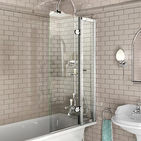 Burlington Bath Screen with Access Panel - 850 x 1450mm - BU44