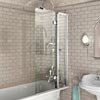 Burlington Bath Screen with Access Panel - 850 x 1450mm - BU44 Small Image