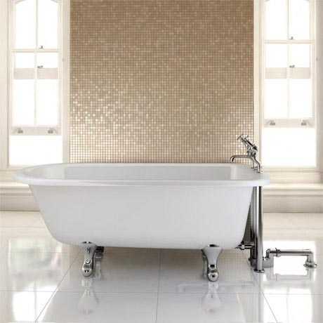 Burlington - Blenheim Single Ended 1700mm Freestanding Bath with Legs