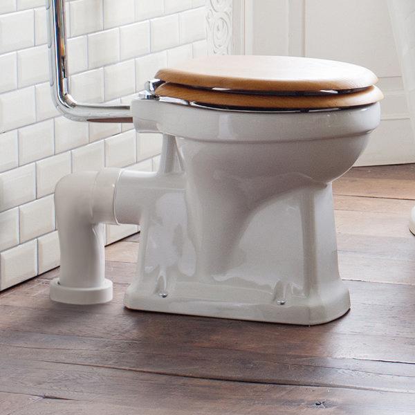Burlington Ceramic Trap for Converting P-Trap Pans to S-Trap - C26 Feature Large Image