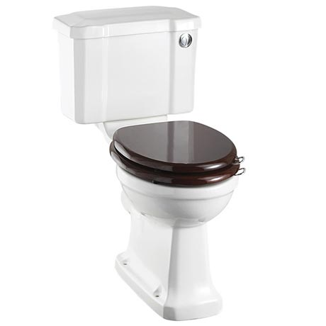 Burlington Cloakroom Slimline Toilet - Button Flush