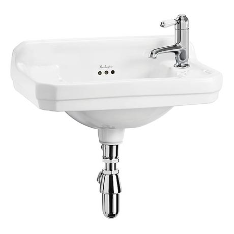 Burlington Edwardian 1TH Wall Mounted Cloakroom Basin - B8R