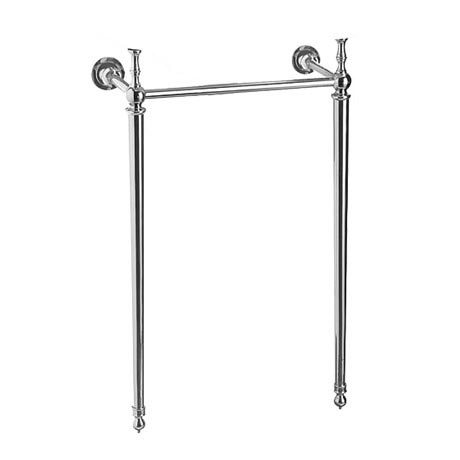 Burlington Edwardian Cloakroom Chrome Wash Stand - T21