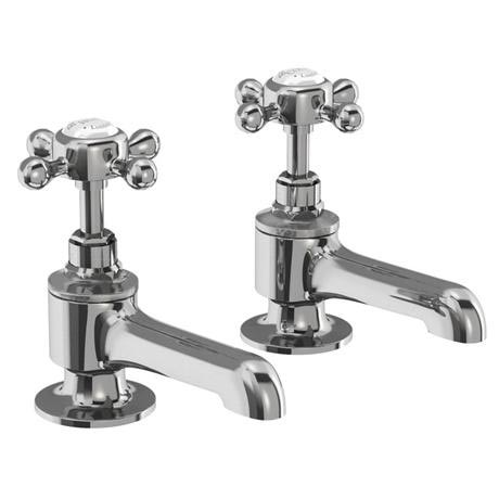 Burlington - Stafford Bath Pillar Taps - STA13