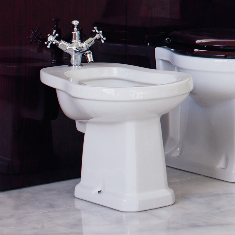 Burlington Traditional Bidet - P4 Profile Large Image