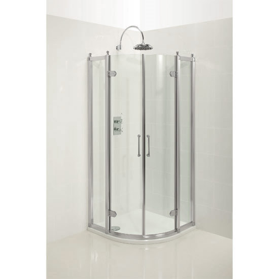 Burlington Traditional Quadrant Shower Enclosure Profile Large Image