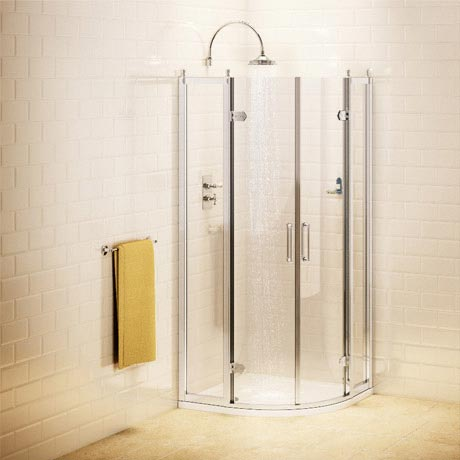 Burlington Traditional Quadrant Shower Enclosure
