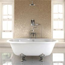 Burlington - Windsor Double Ended 1700mm Freestanding Bath with Legs Medium Image