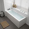 Buxton Double Ended Bath + Panels profile small image view 1