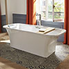 Mira Flight 1800 x 800mm Freestanding Bath - C1.1842.354.WH profile small image view 1