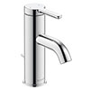 Duravit C.1 S-Size Single Lever Basin Mixer with Pop-up Waste - Chrome - C11010001010 profile small image view 1