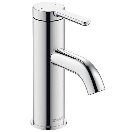 Duravit C.1 S-Size Single Lever Basin Mixer - Chrome - C11010002010