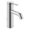 Duravit C.1 M-Size Single Lever Basin Mixer with Pop-up Waste - Chrome - C11020001010 profile small image view 1