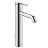 Duravit C.1 L-Size Single Lever Basin Mixer with Pop-up Waste - Chrome - C11030001010 profile small image view 1