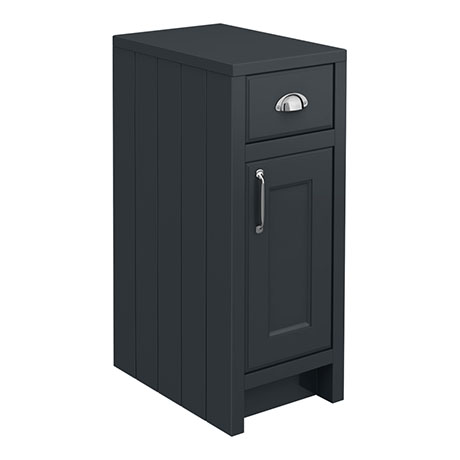 Chatsworth Graphite Cupboard Unit 300mm Wide x 435mm Deep