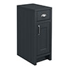 Chatsworth Graphite Cupboard Unit 300mm Wide x 435mm Deep profile small image view 1