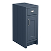 Chatsworth Blue Cupboard Unit 300mm Wide x 435mm Deep profile small image view 1