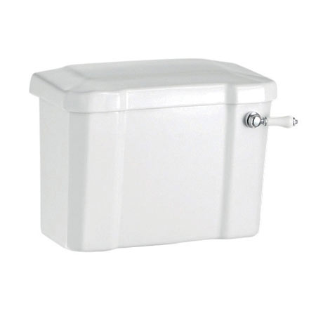 Burlington Close Coupled/Low level Cistern 44cm + Ceramic Lever