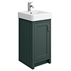 Chatsworth Traditional Green Vanity - 425mm Wide profile small image view 1