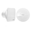 Xpelair C4HTSR Simply Silent Bathroom Extractor Fan with Humidistat & Timer profile small image view 1