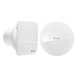 "Xpelair Simply Silent 4"" Bathroom Extractor Fan"