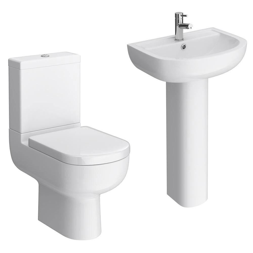 Cruze 4-Piece Modern Bathroom Suite Large Image