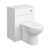 Cove 600mm BTW Toilet Unit Inc. Cistern + Soft Close Seat (Depth 330mm) profile small image view 1