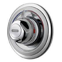 Aqualisa - Aquavalve 609 Thermo Concealed Thermostatic Shower Valve - Chrome - C609.01T Medium Image