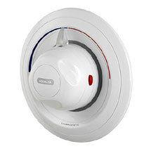 Aqualisa - Aquavalve 609 Thermo Concealed Thermostatic Shower Valve - White - C609.20T Medium Image