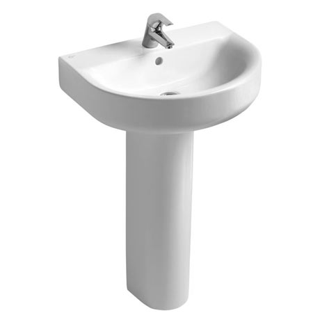 Ideal Standard Concept Arc 1TH Basin & Pedestal