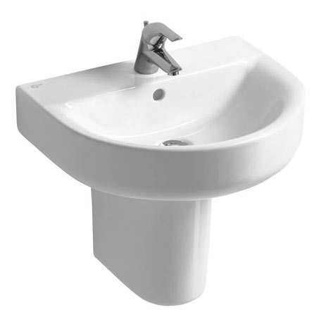 Ideal Standard Concept Arc 1TH Basin & Semi Pedestal