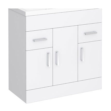 Turin 800mm Vanity Cabinet (excluding Basin)