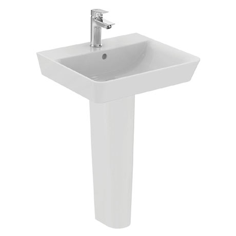Ideal Standard Concept Air Cube 1TH Basin & Pedestal