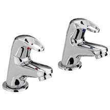 Bristan Cadet Bath Taps - CAD-3/4-C Medium Image