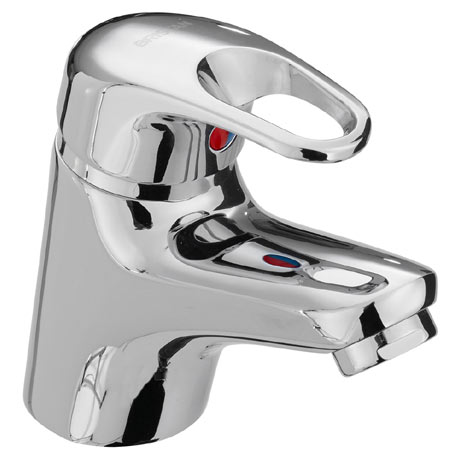 Bristan Cadet Monobloc Basin Mixer with Clicker Waste - CAD-BAS-C