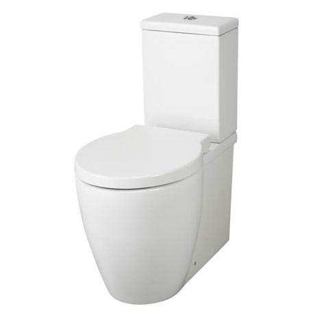 Hudson Reed - Langdon close coupled BTW pan & cistern with soft close seat - CAL003