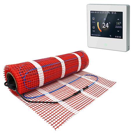 Caldo Underfloor Heating Mat w. Digital Programmable Timerstat Bundle
