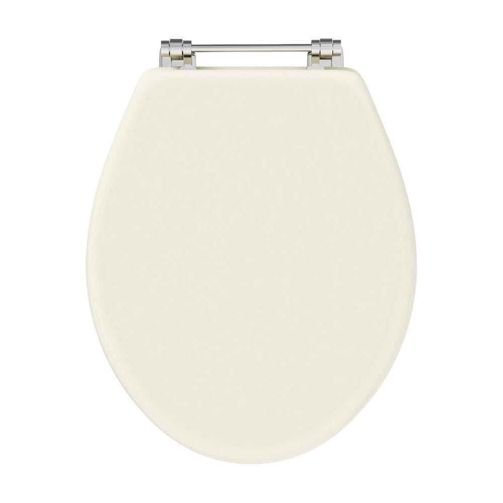 Downton Abbey Carlton Low Level Traditional Bathroom Suite - Ivory profile large image view 2